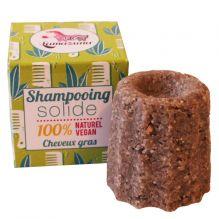 Shampooing solide cheveux gras Litsée citronée 55 g