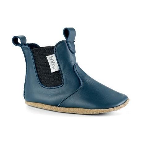Chaussons 4168 - Bottines bleu