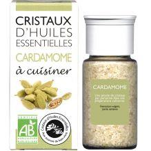 Cristaux d'huiles essentielles à cuisiner - cardamome - 10 g