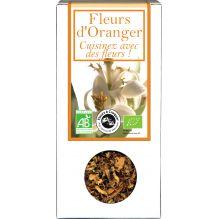 Fleurs à croquer Fleur d'Oranger  30 g