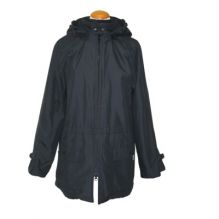Veste de portage avec doublure et capuche Noir