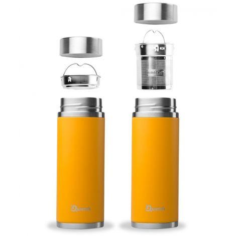 Théière nomade isotherme en inox 300 ml Orange