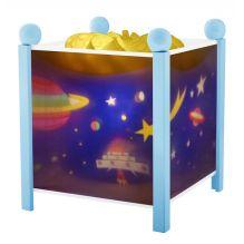"""Lanterne magique """"Espace"""" Bois Bleu - à partir de 3 ans"""