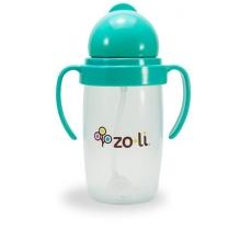 Gobelet avec paille lestée  Sans BPA ni phtalate Mint - 295 ml