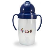 Gobelet avec paille lestée  Sans BPA ni phtalate Marine - 295 ml