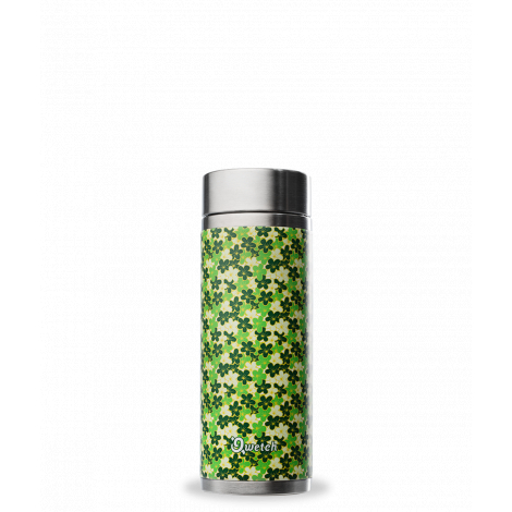 Théière nomade isotherme en inox 300 ml Chisa Vert