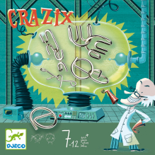 Casse-têtes en métal 'Crazix' - à partir de 7 ans