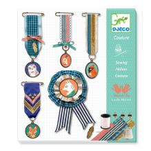 Set de couture 'De fil en médailles' - à partir de 7 ans