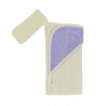 Cape de bain + gant de toilette