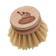 Recharge pour brosse vaisselle en bois et fibres