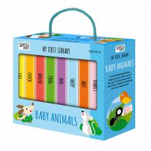 """Ma petite bibilothèque """"Mes petits animaux"""" - à partir de 2 ans"""