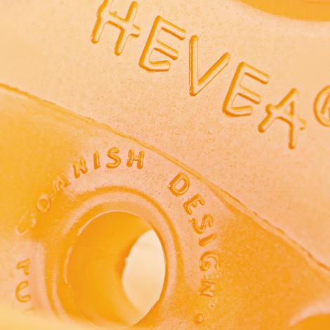 Tétine plate en caoutchouc naturel Canard  3-36 mois