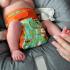 Couche lavable Pop-In Nouveaux Nés avec insert en bambou Tigres