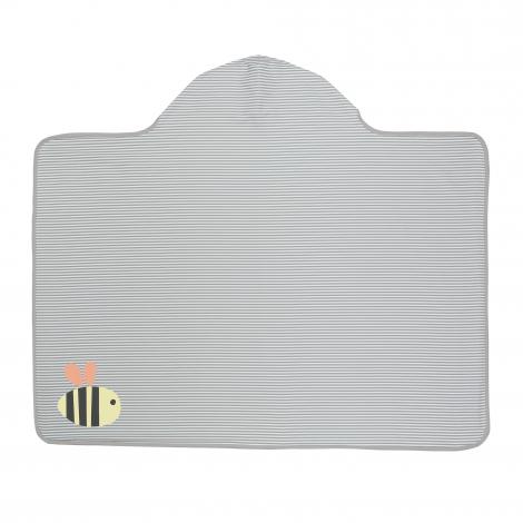 Serviette de bain à capuche anti-UV - Bourdon