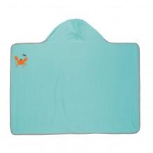 Serviette de bain à capuche anti-UV - Etoile de mer