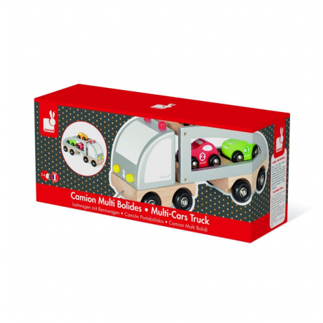 Camion multi bolides - à partir de 18 mois