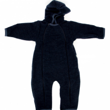 Combinaison à capuche en polaire de  laine - Nuit