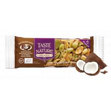 Barre aux noix et fruits secs - Chocolat noir Coconut - 1 x 40 g