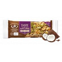 Barre aux noix et fruits secs - Chocolat noir Coconut - 1 x 40 gr