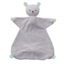 Doudou Indy - Silver grey/fresh mint