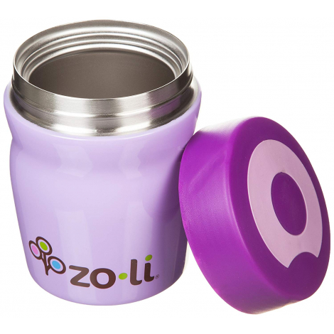Boîte isotherme en inox Dine - Sans BPA ni phthalate - 350 ml Mauve