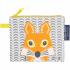 Mini trousse - porte monnaie en coton BIO - renard