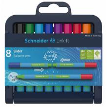 Minis stylos bille 1 mm - 8 couleurs