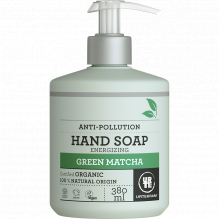 Savon main anti-pollution - green matcha - 380 ml en pompe