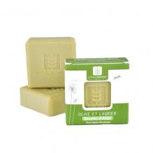 Savon Olive et laurier Recette d'Alep Tous types de peaux 100 gr