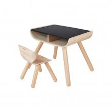 Table et chaise en bois - à partir de 3 ans