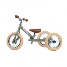 Trybike 2-en-1 vintage vert - tricycle