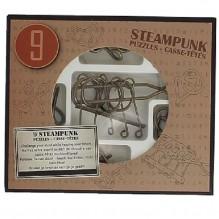 Set de 9 casse-têtes métal - à partir de 8 ans - version bronze