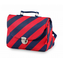 Cartable small Stripe Navy