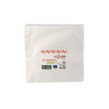 Serviettes en papier écologiques - 50 pièces