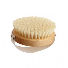 Brosse de massage ronde en hêtre huilé Pures soies