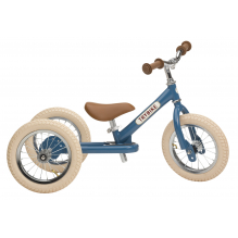 Trybike 2-en-1 vintage bleu - tricycle