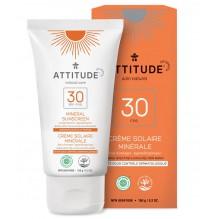 Crème solaire hypoallergénique SPF 30 - fleur d'oranger - bien être durable - 150 g