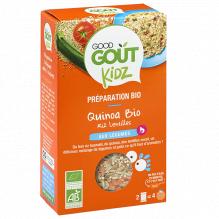 Quinoa Bio - Légumes - 2 x 120 g