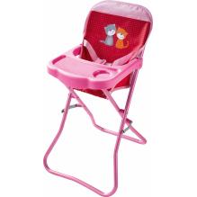Chaise haute pour poupée Pré fleuri - Lilly and friends - à partir de 18 mois