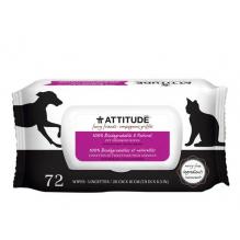 Lingette de toilettage - animaux domestiques - 72 lingettes