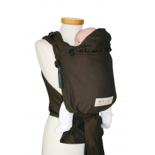 Porte bébé Baby Carrier - version SLIM - Choco