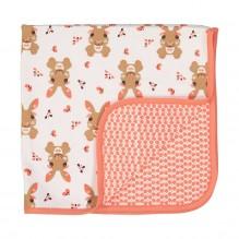 Couverture bébé en coton BIO - Lapin