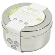Boîte ronde en inox - Kochi - 150 ml