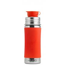 Gourde bouteille en inox - 275 ml - Orange