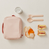 Lunch bag Go REPet - Blush et terracotta