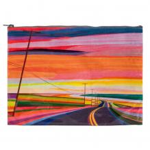 Grande trousse en matériaux recyclés - Sunset highway