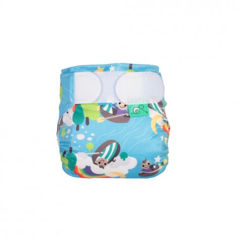 Couche lavable TE1 TeenyFit  V4 - nouveau-né - motif Row your boat