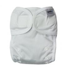 Culotte de protection pour couche lavable - 3,5 à 20 kg - Lot de 2 - Blanc