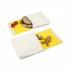 Snack pack: pochette alimentaire en coton BIO - motif Chat  - lot de 2
