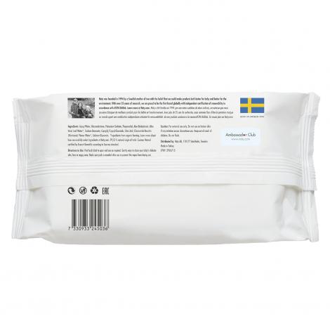 Lingettes douces pour bébé - à l'Aloé Vera 100% ECO - 56pcs